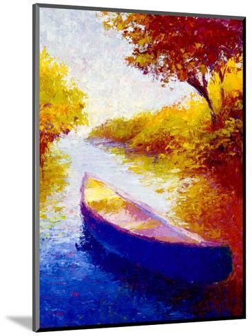 Salmon River-Gail Wells-Hess-Mounted Art Print