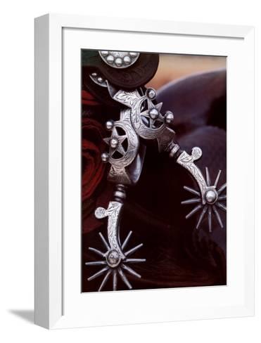 Silver Spurs-David R^ Stoecklein-Framed Art Print