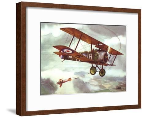 Sopwith Camel, 1917-Alfred Owles-Framed Art Print