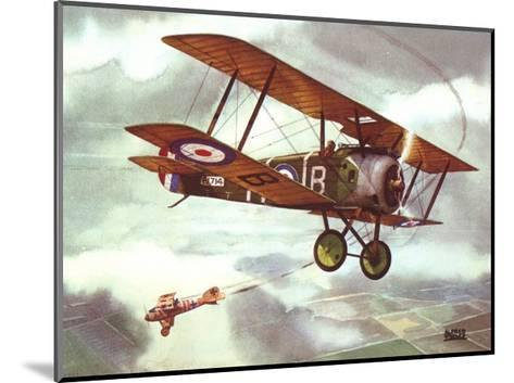 Sopwith Camel, 1917-Alfred Owles-Mounted Art Print