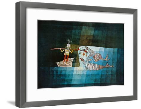 Sinbad the Sailor-Paul Klee-Framed Art Print