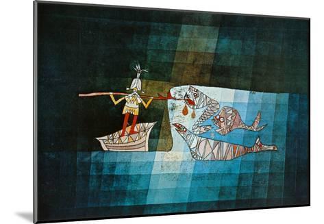 Sinbad the Sailor-Paul Klee-Mounted Art Print