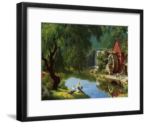 The Good Old Days-Paul Detlefsen-Framed Art Print