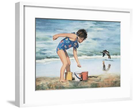 Three Pails-Carol Zink-Framed Art Print