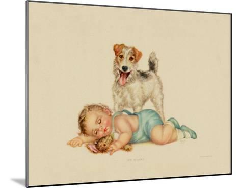 On Guard-Charlotte Becker-Mounted Art Print