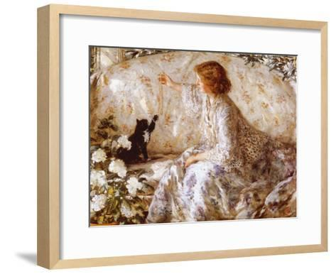 Hydrangeas-Philip Wilson Steer-Framed Art Print