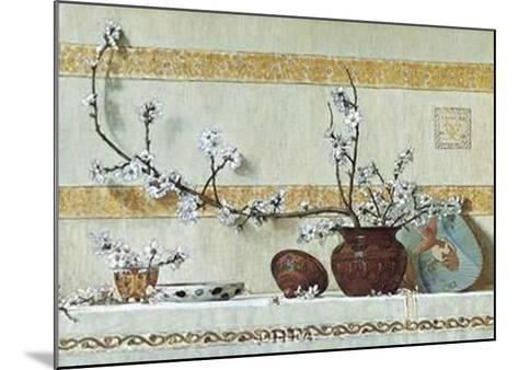 Quince Blossoms-Charles Caryl Coleman-Mounted Art Print