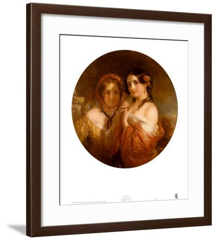 The Sisters-Charles Baxter-Framed Art Print