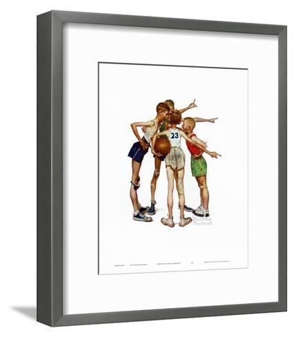 Oh, Yeah-Norman Rockwell-Framed Art Print