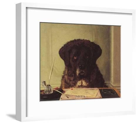 The President-Horatio Henry Couldery-Framed Art Print