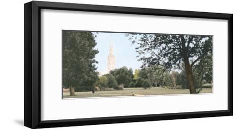 Salisbury Cathedral-Michael Hudson-Framed Art Print