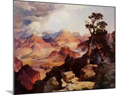 Clouds in the Canyon-Thomas Moran-Mounted Art Print