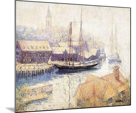 Gloucester Harbor, 1913-Hayley Lever-Mounted Art Print