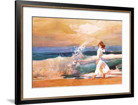 Butterfly Beach-Richard Yaco-Framed Art Print