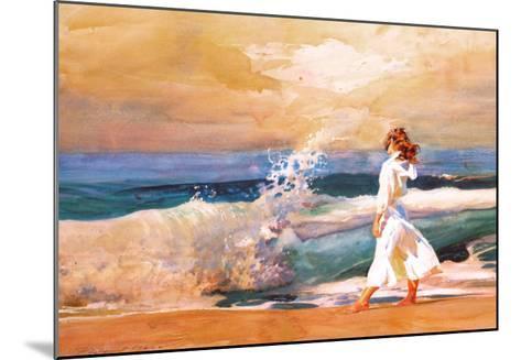 Butterfly Beach-Richard Yaco-Mounted Art Print