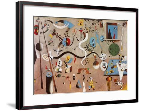 Carnival of Harlequin-Joan Mir?-Framed Art Print