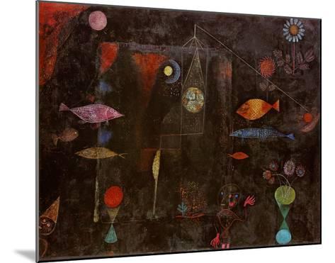 Fish Magic-Paul Klee-Mounted Art Print