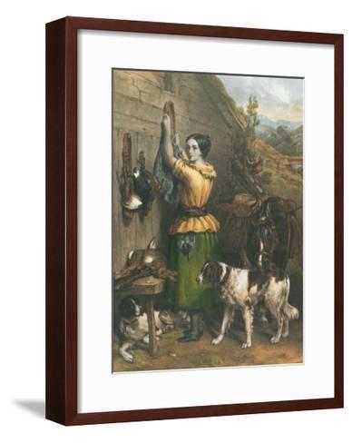 Gamekeeper's Daughter-Frankin Taylor-Framed Art Print