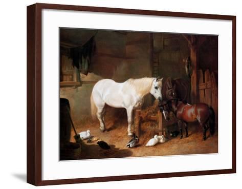 After Work-John Frederick Herring I-Framed Art Print