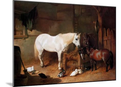 After Work-John Frederick Herring I-Mounted Art Print