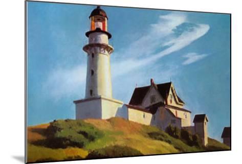 Lighthouse at Two Lights-Edward Hopper-Mounted Art Print