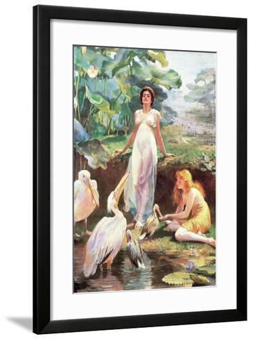 Victorian Fantasy-Arthur Drummond-Framed Art Print