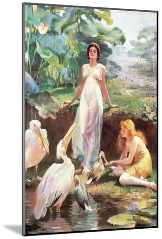 Victorian Fantasy-Arthur Drummond-Mounted Art Print