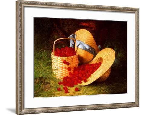 Harvest of Cherries, 1866-Robert Spear Dunning-Framed Art Print