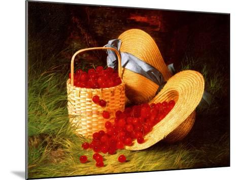 Harvest of Cherries, 1866-Robert Spear Dunning-Mounted Art Print