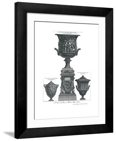 Vaso Antico-Giovanni Battista Piranesi-Framed Art Print