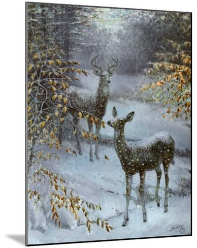 Early Snow-Edward J^ Bierly-Mounted Art Print