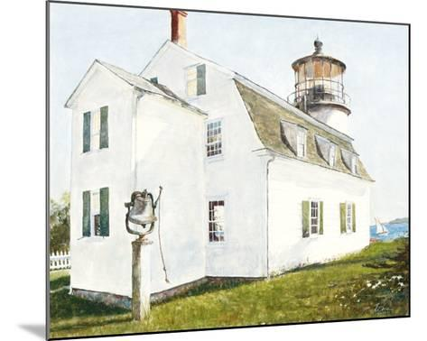 Lighthouse with Bell-Thomas LaDuke-Mounted Art Print