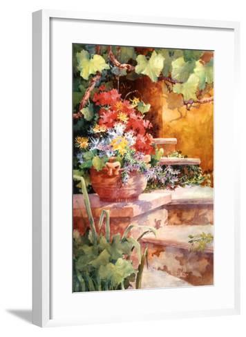 Steps of Provence-Diane Maxey-Framed Art Print