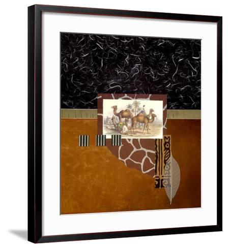 Oasis Travelers-Bryan Martin-Framed Art Print