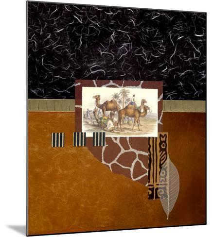 Oasis Travelers-Bryan Martin-Mounted Art Print
