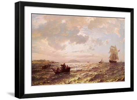 Fresh Breeze-Hans F. Gude-Framed Art Print
