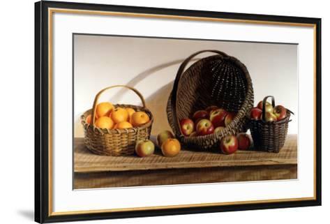 Apples and Oranges-Pauline Ebl? Campanelli-Framed Art Print