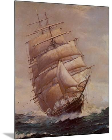 Romance of Sail-Frank Vining Smith-Mounted Art Print