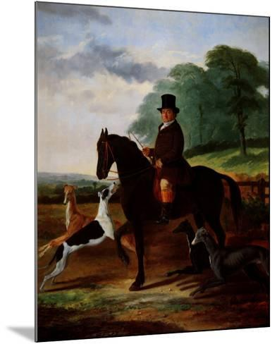 Huntsman with his Greyhounds-William Henry Knight-Mounted Art Print