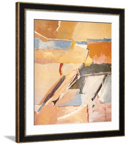 Berkeley No. 8-Richard Diebenkorn-Framed Art Print