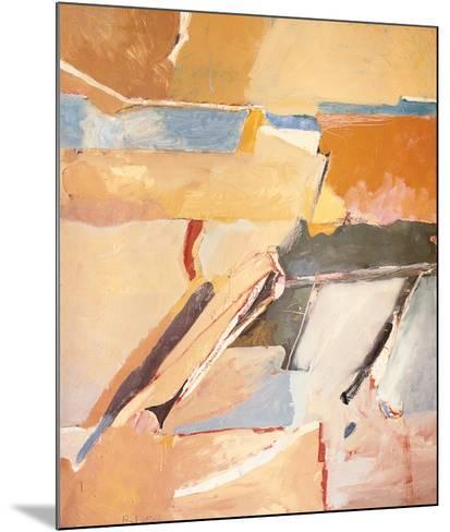 Berkeley No. 8-Richard Diebenkorn-Mounted Art Print