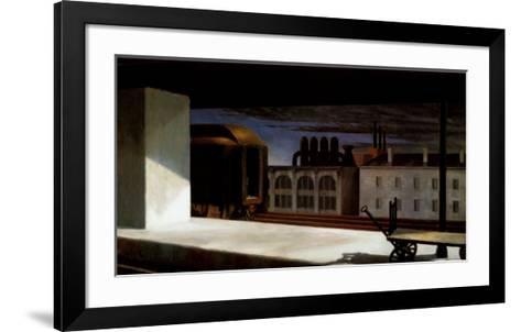 Dawn in Pennsylvania-Edward Hopper-Framed Art Print