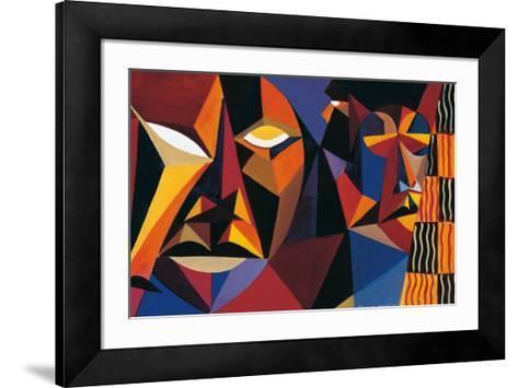 Maskermorphosis II-Olu Jimi Adeniyi-Framed Art Print