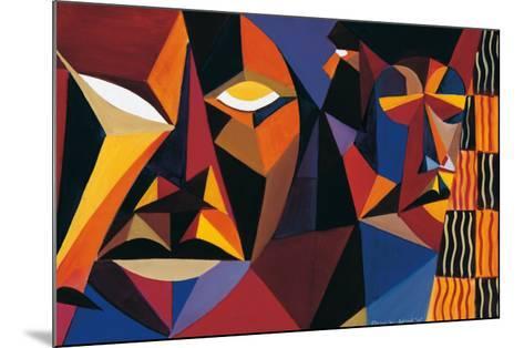 Maskermorphosis II-Olu Jimi Adeniyi-Mounted Art Print