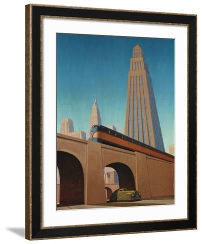 Overpass-Robert LaDuke-Framed Art Print