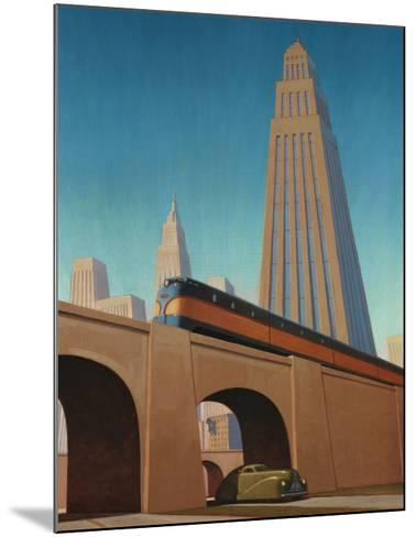 Overpass-Robert LaDuke-Mounted Art Print