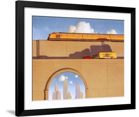 Traffic-Robert LaDuke-Framed Art Print