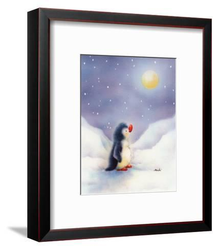 Little Penguin-Makiko-Framed Art Print