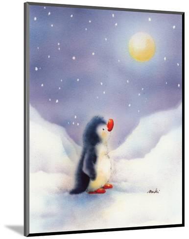 Little Penguin-Makiko-Mounted Art Print