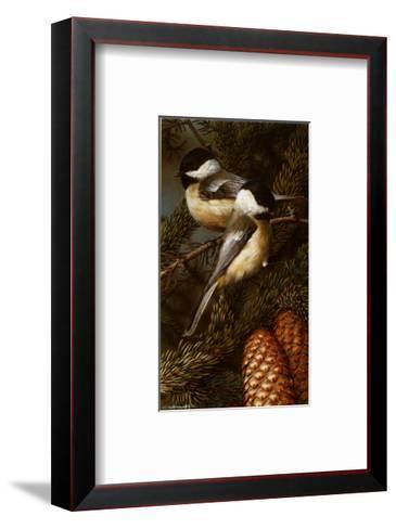 Chickadees-Carl Brenders-Framed Art Print